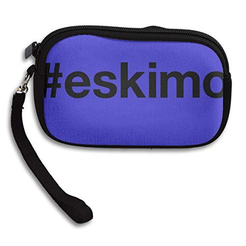 Women Wallets Eskimo Wristlet Clutch Wallet Zipped -