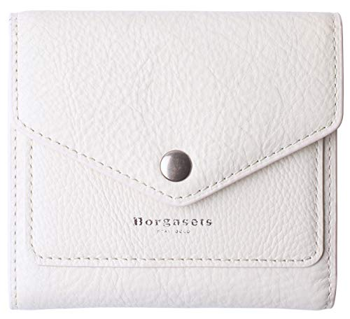 - Small Leather Wallet for Women, RFID Blocking Women's Credit Card Holder Mini Bifold Pocket Purse (White)