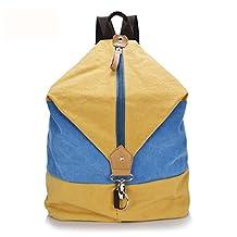 MedzRE Women Mens New Fashion Canvas Travel Bagpack Backpack School Bag