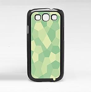 Teal Geometric Shapes Hard Snap on Phone Case (Galaxy s3 III) by heywan