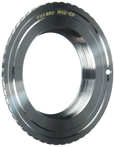 m Screw Mount Lens to Canon EOS EF Mount Digital Camera Adapter Ring (Lens Mount Adapter Ring)