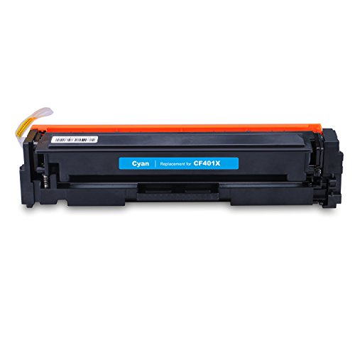LEMERO Replacement for CF400X CF401X CF402X CF403X Toner Cartridge (201X) for use with Color LaserJet Pro MFP M277dw, M252dw, MFP M277n, M252n, High Yield 4 Pack Photo #6