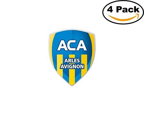 Avignon Four - ac arles avignon 1913 4 Stickers 4x4 Inches Car Bumper Window Sticker Decal