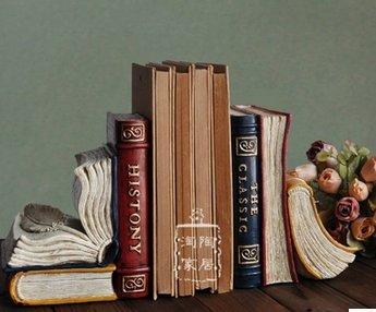 Sujetalibros originales baratos manualidades Libros Estante para libros Miniatura