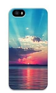 Sakuraelieechyan Seaside Scenery-1 Iphone 5 5S Hard Protective 3D Case