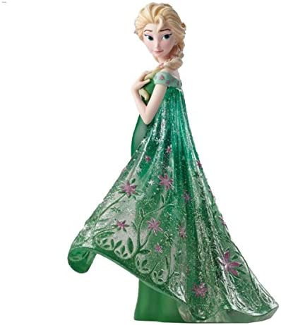 Enesco Disney Showcase Elsa as Seen in Frozen Fever Stone Resin Figurine