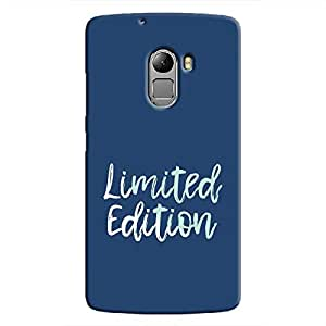 Cover It Up - Limited Edition Blue K4 Note Hard Case
