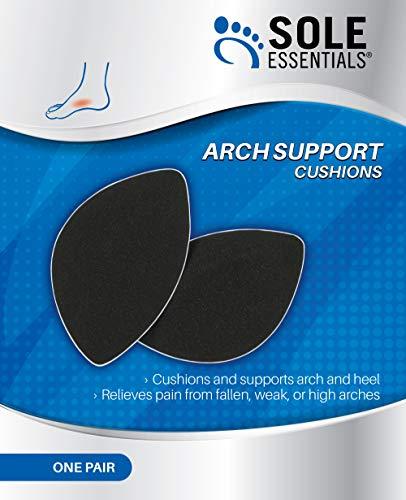 Amazon com: Sole Essentials Arch Support Cushions, Cushions