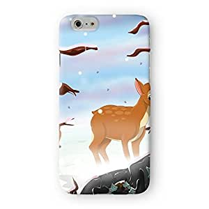 Deer in the Snow Full Wrap High Quality 3D Printed Case for Apple? iPhone 6 by Nick Greenaway + FREE Crystal Clear Screen Protector