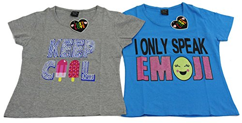 Outfits For Tweens (15503-C-10-12 Just Love T Shirts for Girls (Pack of 2))