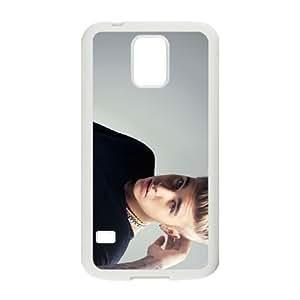 Justin B 005 plastic funda Samsung Galaxy S5 cell phone case funda white cell phone case funda cover ALILIZHIA12142