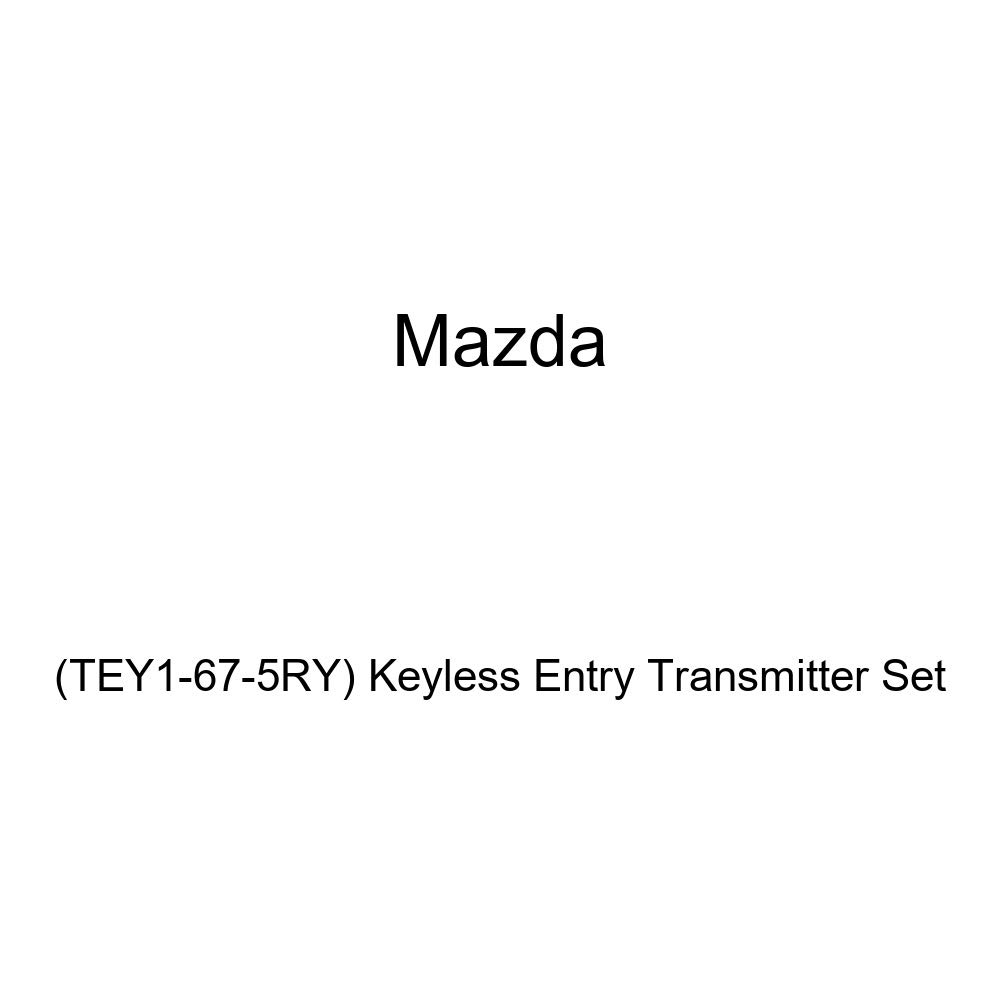 TEY1-67-5RY Keyless Entry Transmitter Set Genuine Mazda