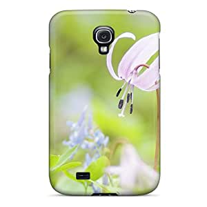 New Design Shatterproof KvAIqyP6987FCOhE Case For Galaxy S4 (spring Blooms)