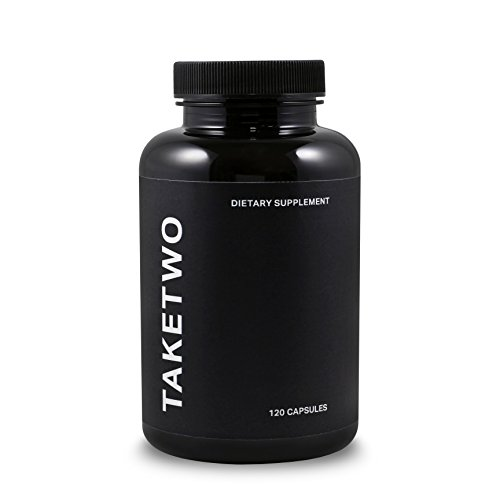 Take Two - Vegan Dietary Fiber Supplement for Men, Pure Digestive Cleanliness, 120 Capsules ()