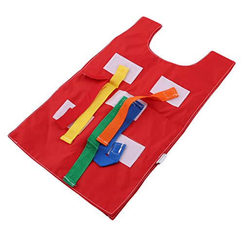 Toys Joofff Vest School Oxford Pull Sport Kindergarten Outdoor Cloth Tails Educational Tactical Kit Early Waistcoat Red Game Thick Kids Equipment r6rUqwB