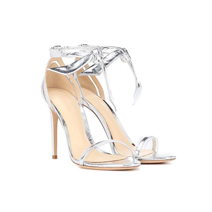 Fcxbq Sandali Eleganti Peep Toe Cinturino Alla Caviglia Tacco A Spillo Alto Largo Tacchi Alti Plateau Banchetto Party Matrimonio Pompe Scarpe Da Donna