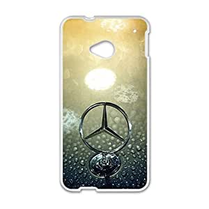 SANLSI Benz sign fashion cell phone case for HTC One M7