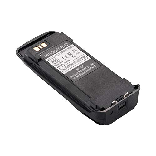 PMNN4077, PMNN4077C, PMNN4066 Battery, Compatible with Motorola XPR6550, PR6380, XIRP6500 and More Models, Click to Find Out More [2019 upgraded model, High Capacity, 2600mAh, 19.2Wh, 7.4V, Li-ion] by SolarMatrix (Image #4)