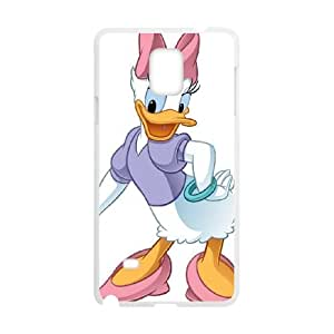 Samsung Galaxy Note 4 Cell Phone Case White House of Mouse Character April Duck givs