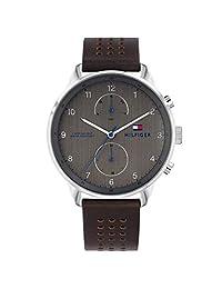 Tommy Hilfiger 1791579 - Reloj de pulsera (piel), color café