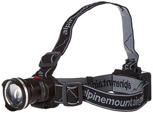 Alpine Mountain Gear Multi Focus Head Lamp, Black, 300 lm by Alpine