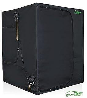 GrowDen Hydroponics Indoor Grow Tent Greenhouse Box Room 5'x5'x6.6′