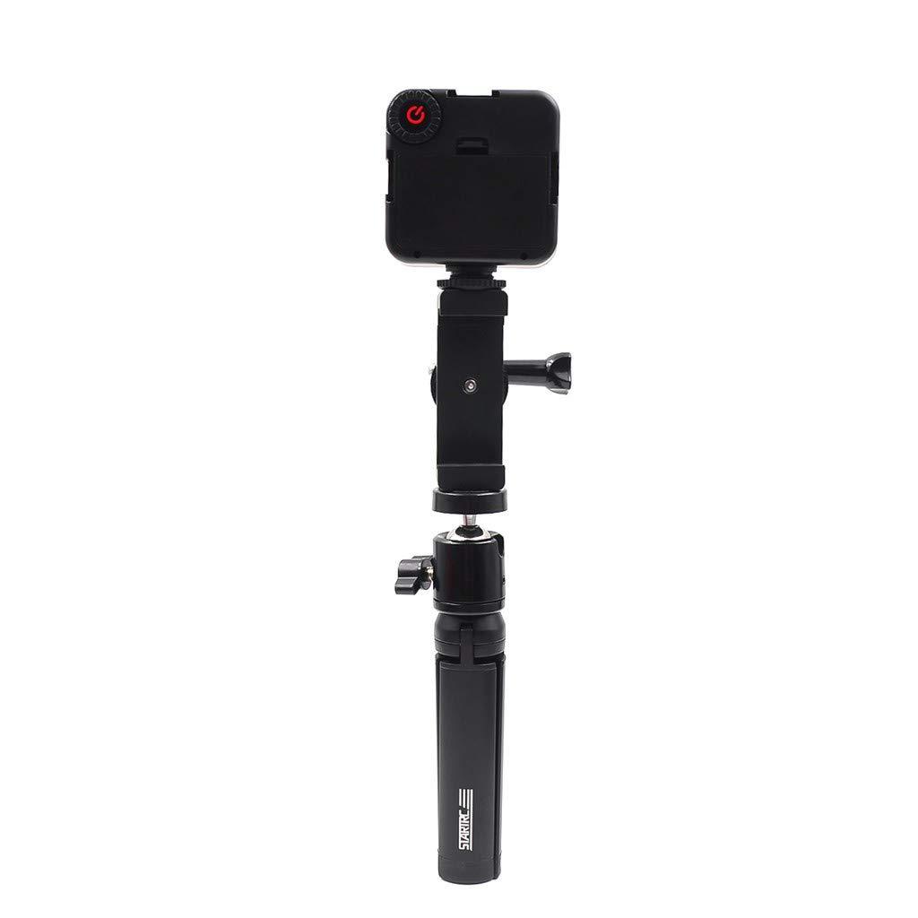 FGDJEE for OSMO Action Camera Stabilizers Holder Camera Handheld Bracket LED Light by FGDJEE