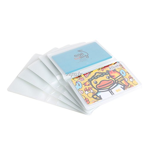 JohnnyBui - 5 x 6Page 24Card Plastic Wallet Insert For Bifold Business Credit Card Holds New (Easiest Way To Pay Off Credit Card Debt)