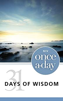 NIV, Once-A-Day:  31 Days of Wisdom, eBook by [Zondervan]