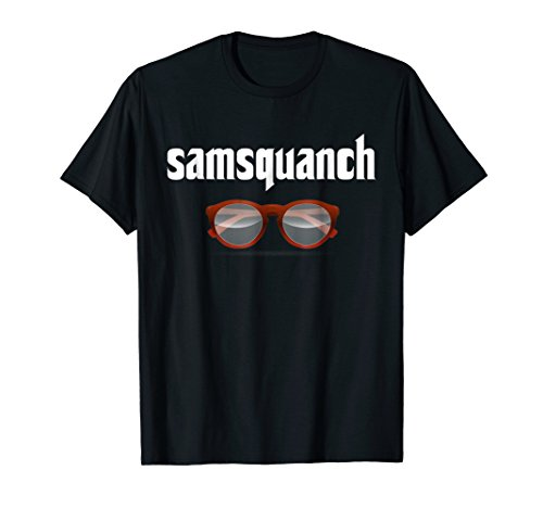 Samsquanch Funny Looking Glasses Bigfoot -