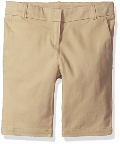- Dockers Big Girls' Uniform Bermuda Short, Khaki, 14
