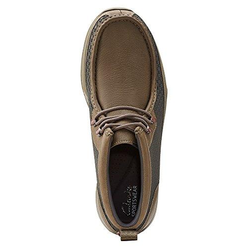 [tawyer Stealth-03527] Clarks Premium Crepe Mens Scarpe Clarkskhaki Combm 03527-kaki Pettine