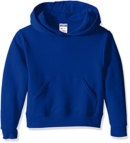 Jerzees Youth Pullover Hood, Royal, Medium