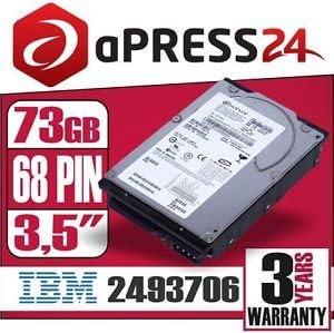 IBM 71P7440-73GB U320 10K 68-pin Hard Drive