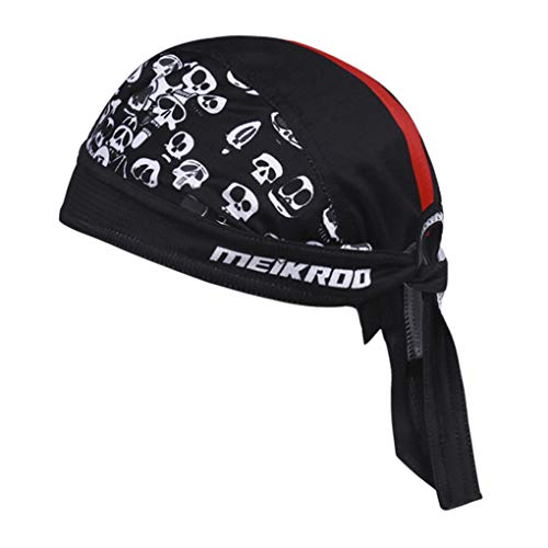 Cycling Hat Men Women Sports Bandana Cool Bike Motorcycle Headwear Quick Dry Skull Pirate Sun Cap UV Protection Running…