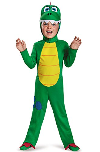 [Disguise 83994M Dinosaur Toddler Costume, Medium (3T-4T)] (Original Toddler Halloween Costumes)