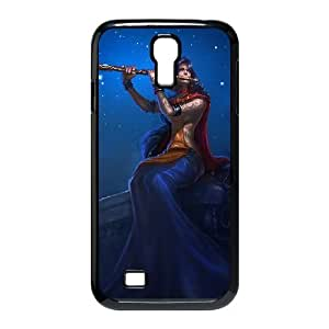 Samsung Galaxy S4 9500 Phone Case Cover Black League of Legends Divine Soraka EUA15973685 Droid Phone Case