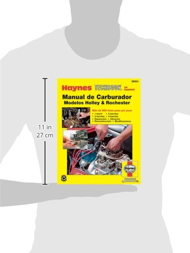 Rochester & Holley Carburetor Manual (Spanish) (Haynes Repair Manuals) by Cengage Learning