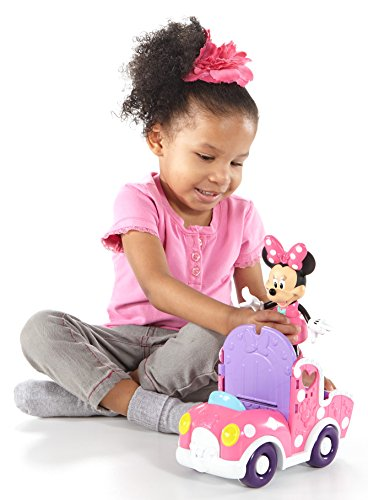 [Fisher-Price 11 Pieces Disney Minnie Mouse and Friends in Polka Dot Pony Cart Set] (Infant Red Minnie My First Disney Costumes)