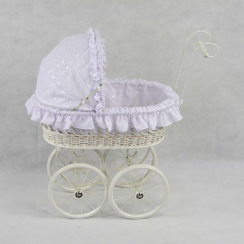 Regal Doll Carriages Elizabeth Buggy Baby Doll by Regal Doll Carriages