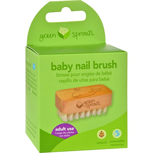 Green Sprouts Baby Nail Brush - Soft bristle - Keep Babies Nails Clean (Pack of (Best Green Sprouts Nail Brushes)