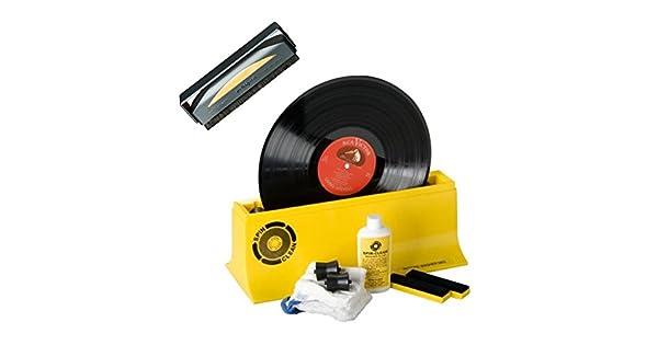 Amazon.com: AudioQuest Record Cleaner cepillo para polvo y ...