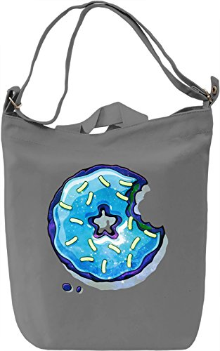 Cosmic Blue Donut Borsa Giornaliera Canvas Canvas Day Bag| 100% Premium Cotton Canvas| DTG Printing|