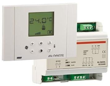 Lote compuesto por un termostato y un actuador de fancoil a 2 o 4 ...