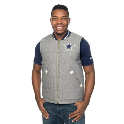 lowest price 01a96 c89ab Dallas Cowboys Mitchell & Ness Margin of Victory Vest