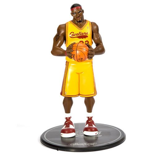 Upper Deck NBA Series 1 All Star Vinyl Figure Lebron James with Card  (Cleveland Cavaliers) (B001P94C72)  782a87650