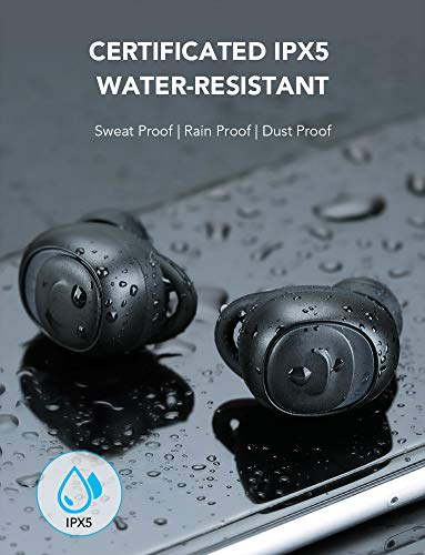 Mebuyz Water Resistant Earbuds IPX5