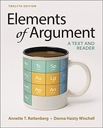 elements of an argument 11th edition