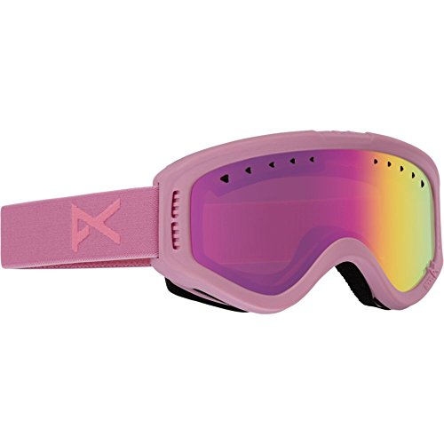 Anon Youth Tracker Goggle, Cotton Candy/Pink Amb, One - Anon Goggles Ski
