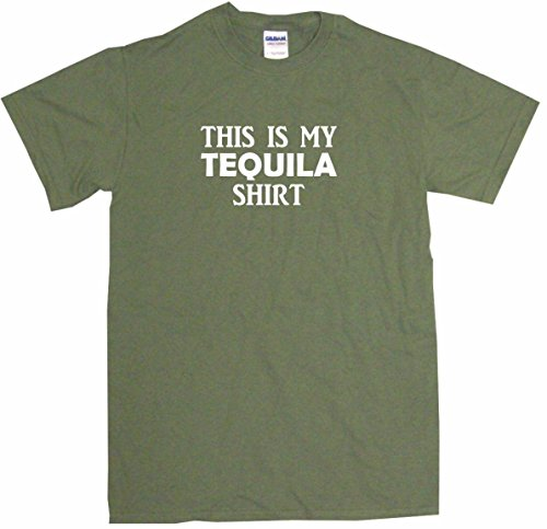 This is My Tequila Shirt Men's Tee Shirt (Mezcal Reposado)